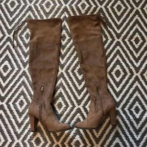 Over the Knee Boots. Size 9.
